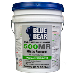 Bllue Bear Mastic Remover