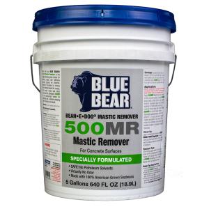 Bllue Bear Mastic Remover