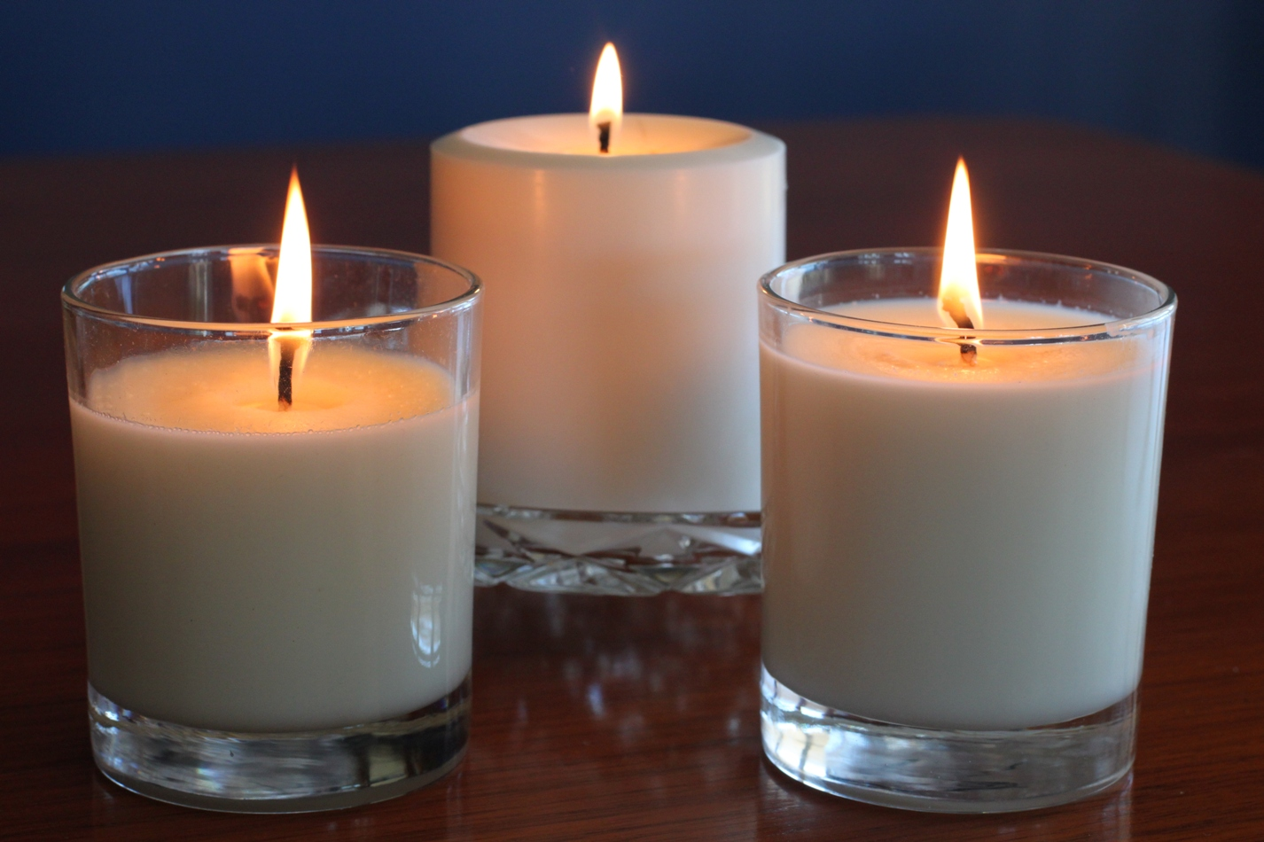 Candle soy wax