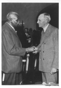 George Washington Carver and Henry Ford 1930's