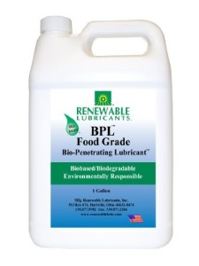 Renewable Lubricant BPL Food Grade