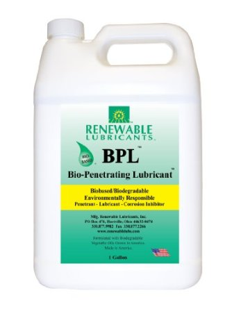 Renewable Lubricant BioPenetrating Lubricant