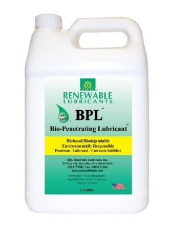 Renewable Lubricant BioPenetrating Lubricant