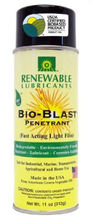 Renewable Lubricants BioBlast Penetrant BioPreferred Aerosal