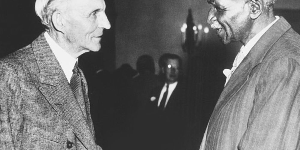 Henry Ford and George Washington Carver